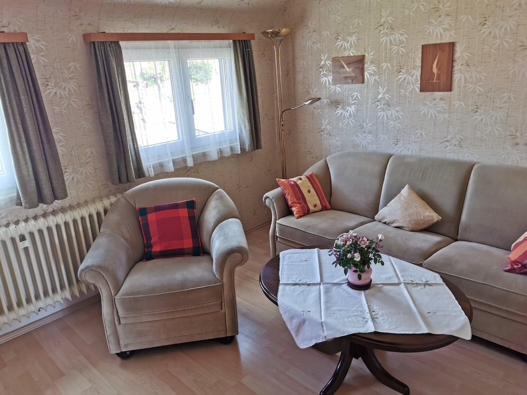 Wohnzimmer Fewo Marion