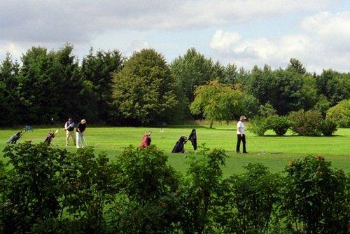 Der Golfplatz in Braasche (30km)
