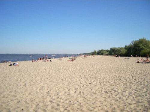 Strandbild Krautsand