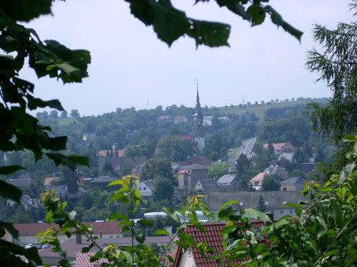 Blick auf Possendorf