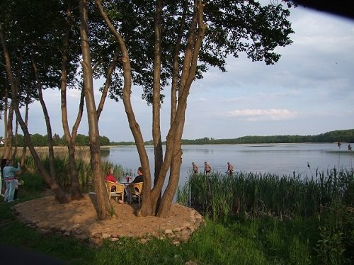 Hauseigene Badestelle am See