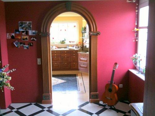 Vom Eingang in die Küche