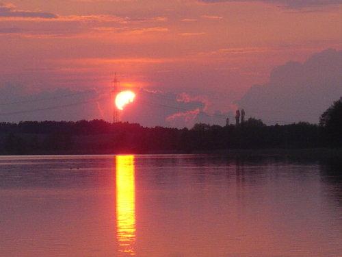 Sonnenuntergang am Holzendorfer See