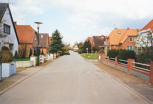 Straßenansicht 'Hinter dem Kloster'