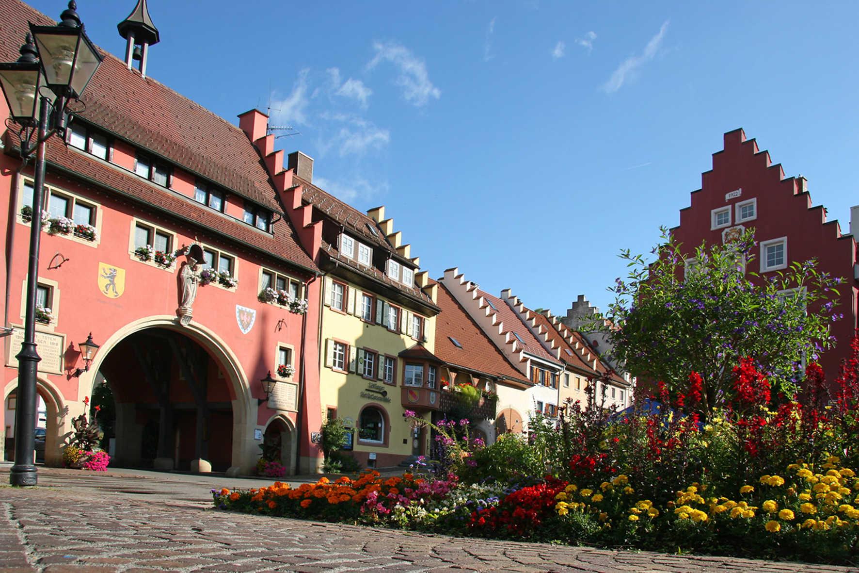 Der historische Stadtkern von Löffingen