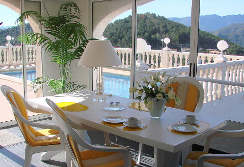 Villa Gandia Hills, Fewo, Wintergarten