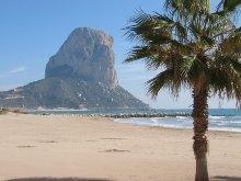 """Strand von Calpe mit Wahrzeichen """"Penon"""""""