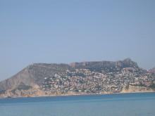 Blick auf Maryvilla vom Meer aus