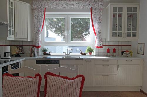 Die Wohnküche hat alles, was man braucht