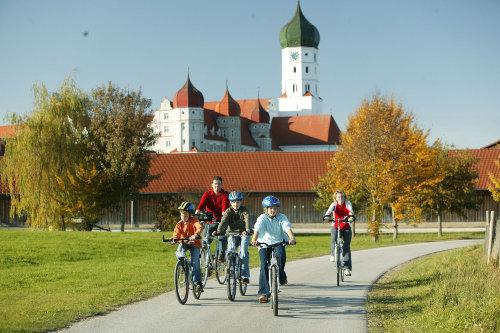 Kammeltalradweg / Kloster Wettenhausen