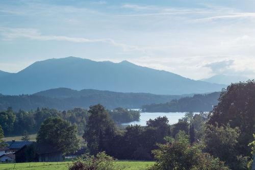 Ausblick Richtung Staffelsee und Hörnle