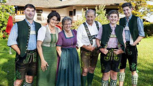 Ihre Gastgeber Familie Nebl und Wagner