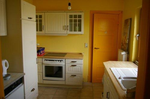 Küche mit Wasch.-, Spülmaschine, Mikro u