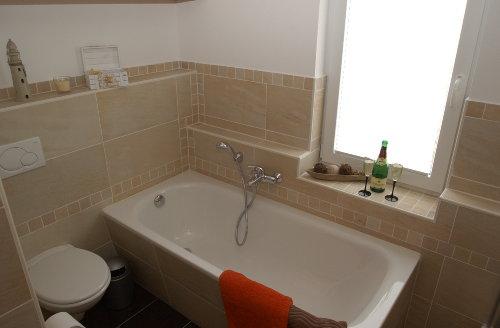 Badezimmer Ferienhaus Elbinsel