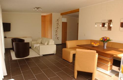 Wohnbereich im Ferienhaus Elbinsel