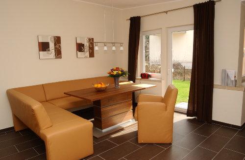 Wohnbereich Ferienhaus Elbinsel