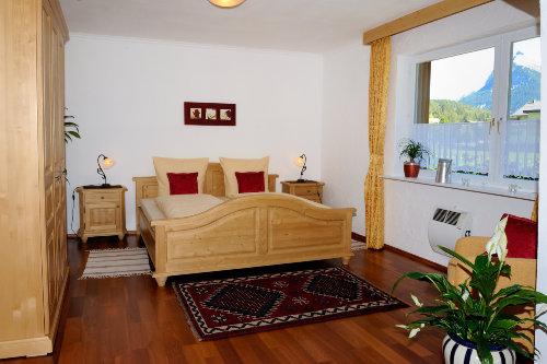 Schlafzimmer Ausblick Gleirschspitze