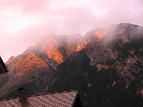 stimmungsbild Aussicht Brunnsteinspitze