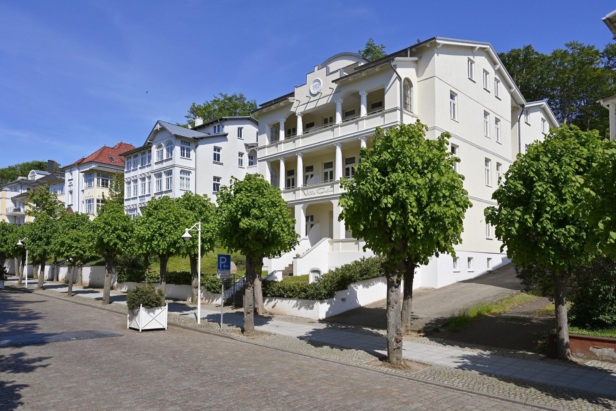 Villa Celia Frontansicht