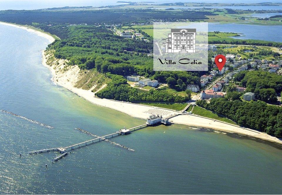Strandnahe Lage der Villa Celia