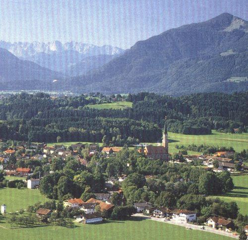Luftaufnahme von Übersee