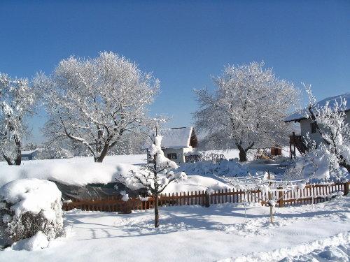 Hexenhäuschen im Winter