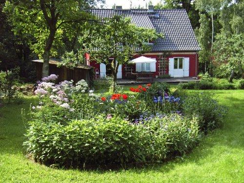 Garten und Blick auf der Veranda