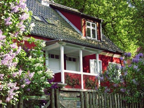 Hauseingang (Ferienwohnung links)