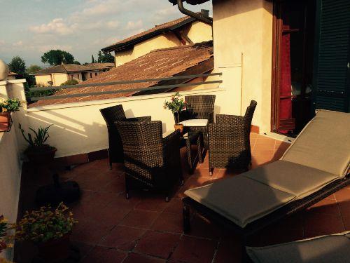 Terrasse im 2. OG mit Seeblick