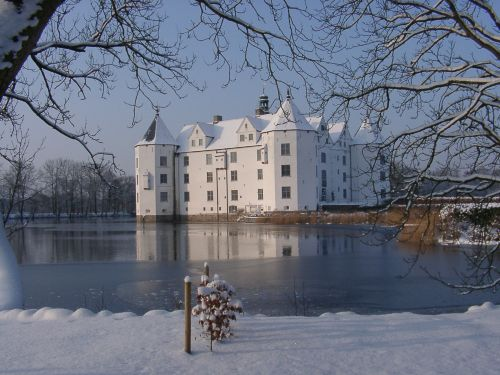Schloss Glücksburg im Winter