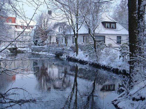 Gästehaus Gestrup auch im Winter schön