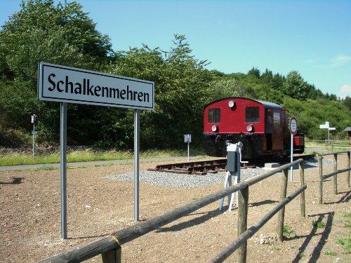 Kleine Erinnerung an die Eisenbahnzeit