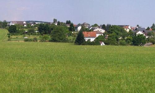 Blick nach Oberscheidweiler