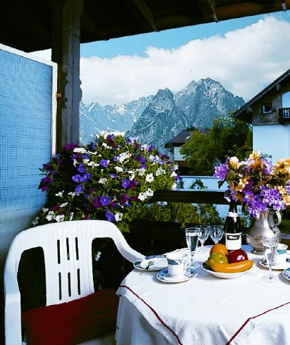 Bergblick Zugspitze