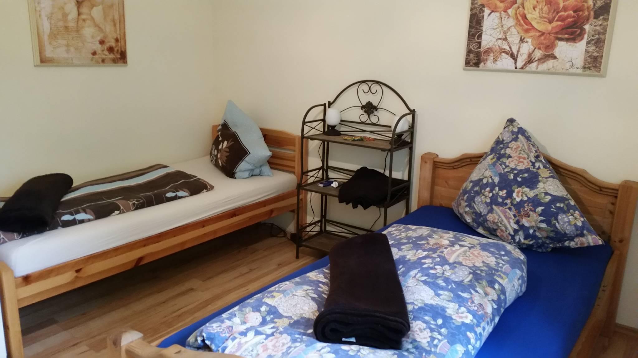Zweites Schlafzimmer.