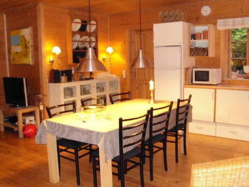 Küche-Esszimmer + Flach TV
