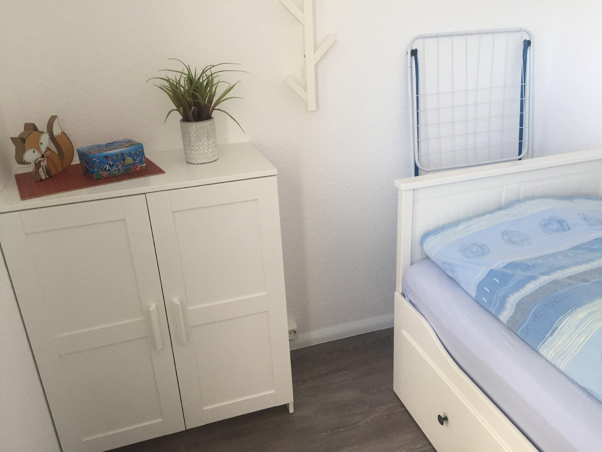 Schlafzimmer mit Etagenbetten