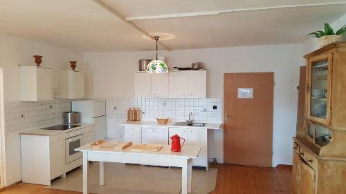 Integrierte Küche im Gruppenraum