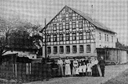 Historisches Foto von 1918