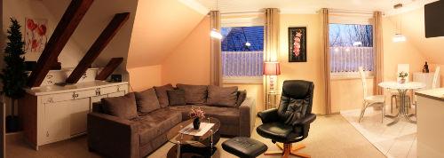 Panoramabild Wohnzimmer