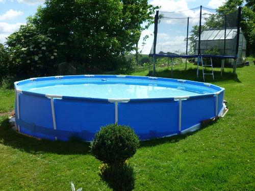 Unser neuer Pool