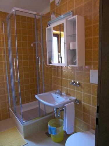 Ein Blick in das Badezimmer