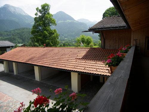 Die Garagen auf der Hof-Innenseite