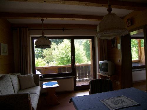 Der Blick auf den grossen Balkon