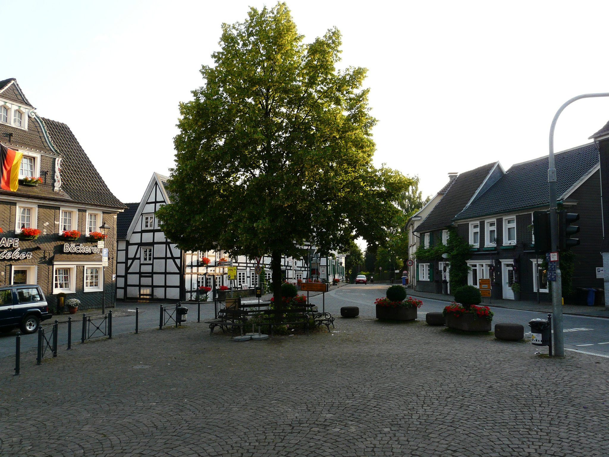 """""""Der Alte vom Berge"""" auf dem Marktplatz"""