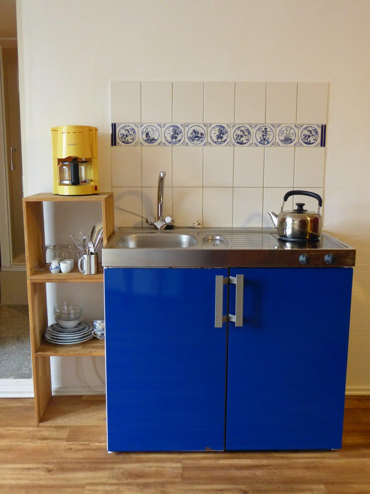 Küche mit Essplatz im EG