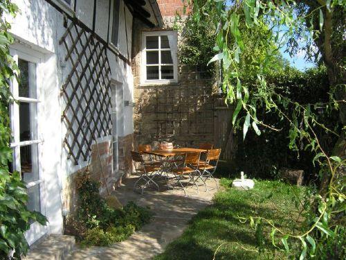 Garten S�dseite Gutshaus