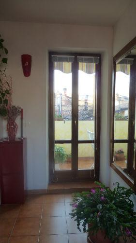 Die Balkontür
