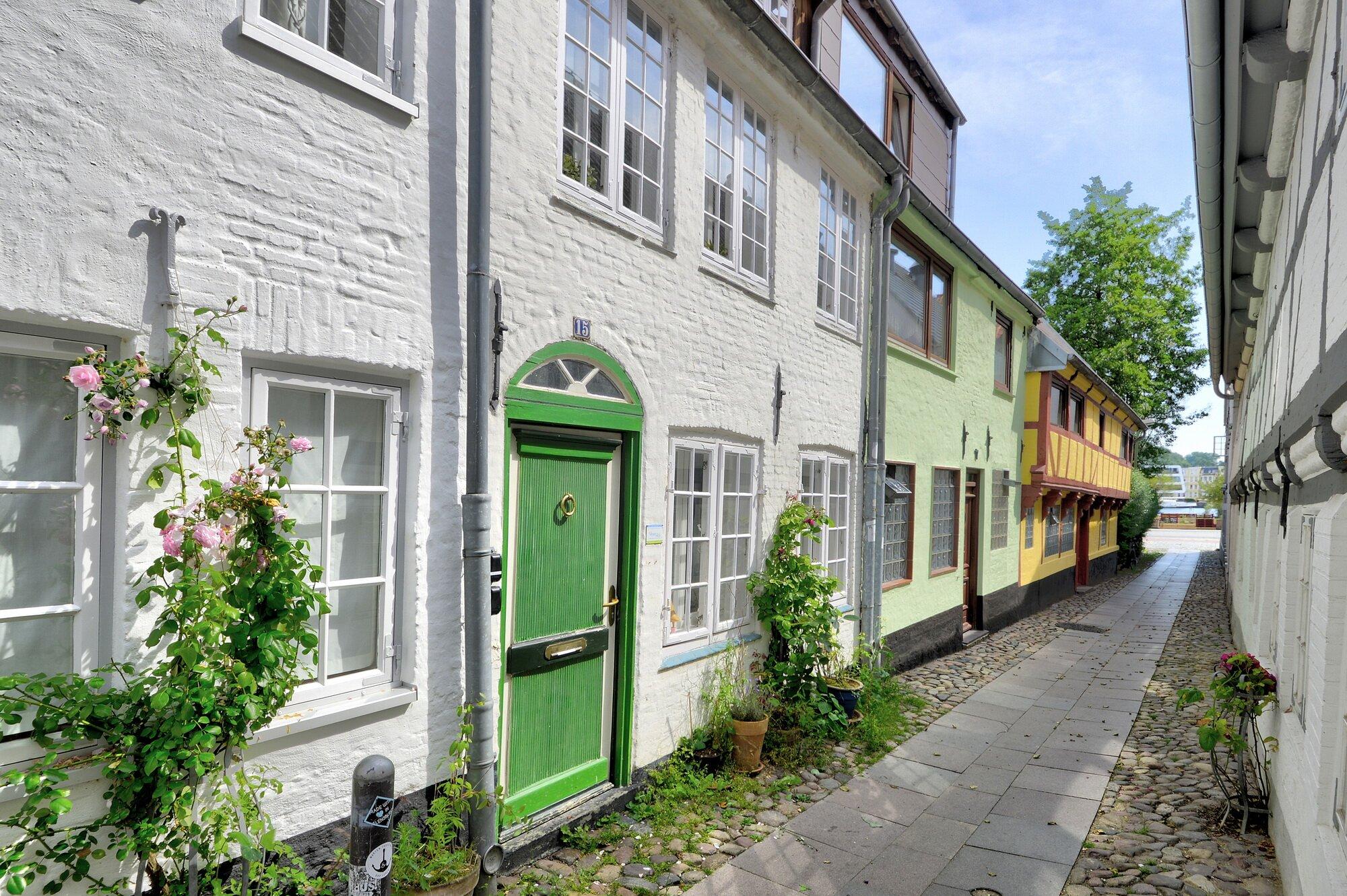 Historisches kleines Stadthaus, ca. 1800