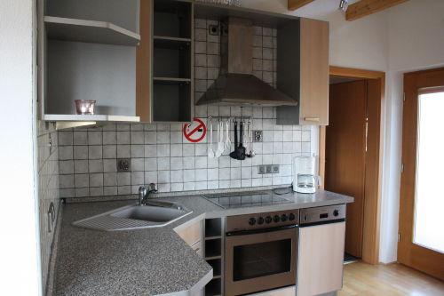 Eingang und Küchenbereich